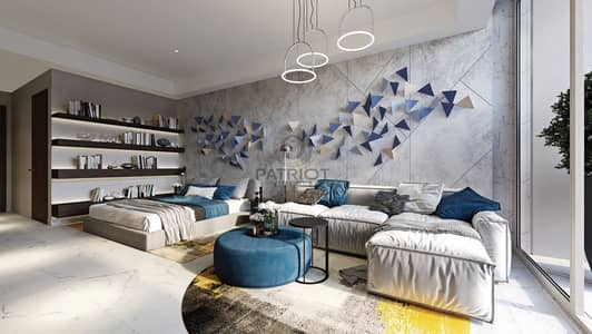 Studio for Sale in Mohammad Bin Rashid City, Dubai - Buy Your Studio In Meydan With A Monthly Payment Plan