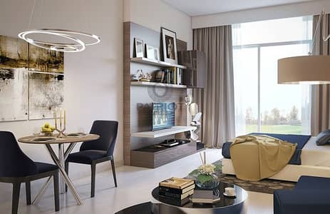 Studio for Sale in DAMAC Hills (Akoya by DAMAC), Dubai - Ready Fully Furnished Apartment - 3 Years Payment Plan - Golf View