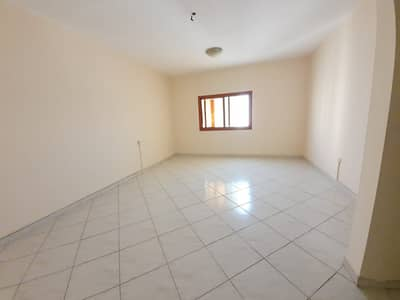 Studio for Rent in Abu Shagara, Sharjah - CENTRAL A/C STUDIO APARTMENT WITH SEPRATE HALL ONLY 14K