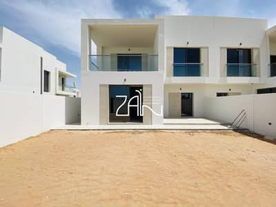3 Bedroom Townhouse for Rent in Yas Island, Abu Dhabi - Book Now Corner 3BR Type EB Single Row Precinct 3