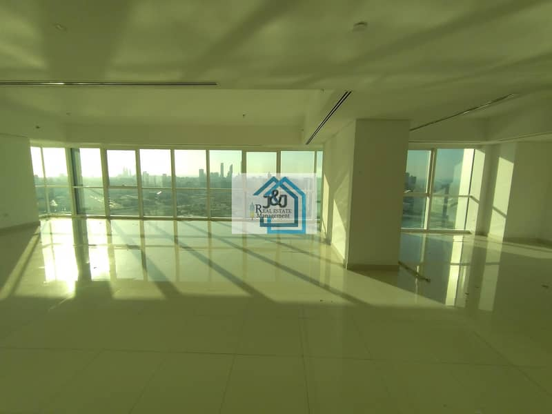 2 Exceedingly large lovely penthouse along with mesmerizing view around.