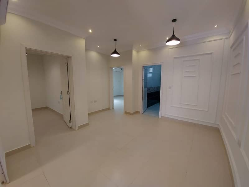 Brand New 2 Bedroom Hall with Private Entrance and Excellent finishing at Al Shamkha