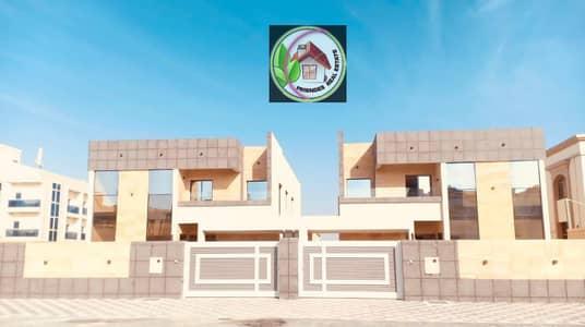 5 Bedroom Villa for Sale in Al Rawda, Ajman - Villa for sale in Ajman, the Rawda area, two floors, modern design