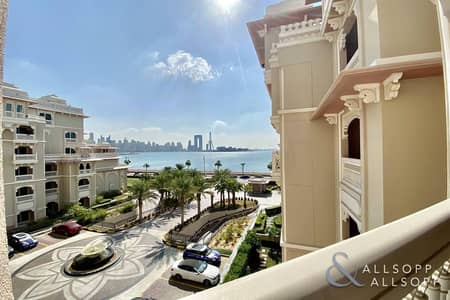 2 Bedroom Flat for Rent in Palm Jumeirah, Dubai - Exclusive | Two Bedrooms | Skyline View