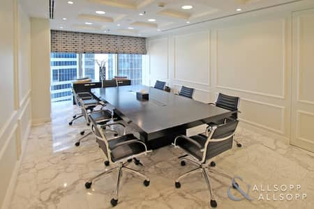 Office for Sale in Business Bay, Dubai - Luxury Furnished | Partitoned Unit | Fitted