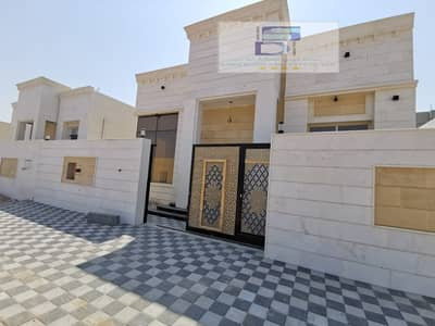 3 Bedroom Villa for Sale in Al Amerah, Ajman - Villa for sale in Ajman, Al Zahia area, two floors, on a direct street, with the possibility of bank financing