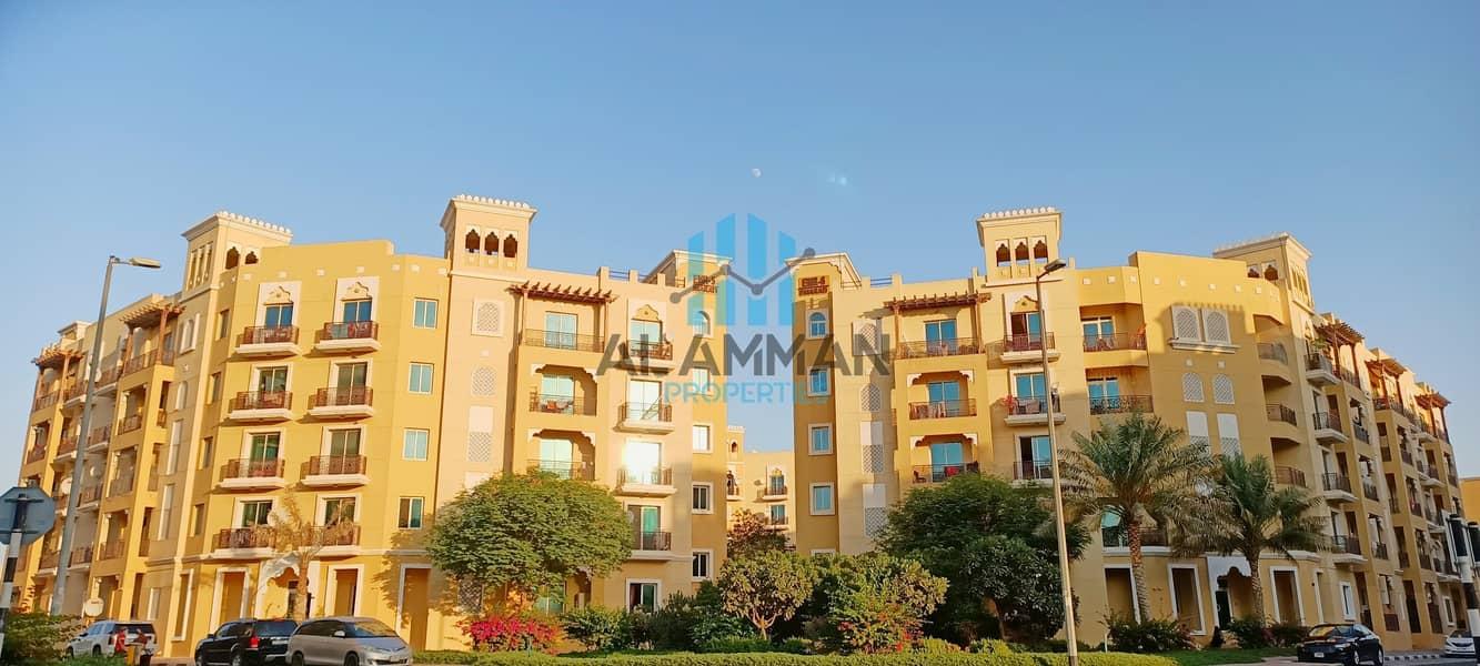 شقة استوديو كبيرة الحجم للإيجار في الكتلة الإماراتية ، المدينة العالمية دبي للعائلة أو التنفيذية