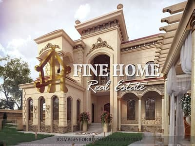 6 Bedroom Villa for Sale in Khalifa City A, Abu Dhabi - Villa | 6 BR | Gym | Sauna | Pool