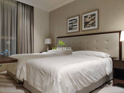 2 Bedroom Hotel Apartment for Rent in Downtown Dubai, Dubai - 2B/R in Address Fountain View-2 High Floor