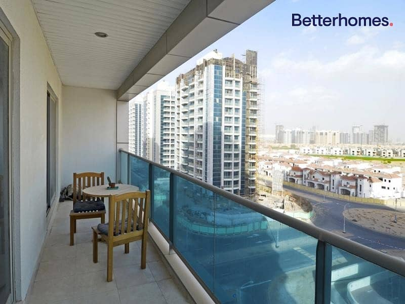 1 Furnished | Large Balcony | Contemporary Style