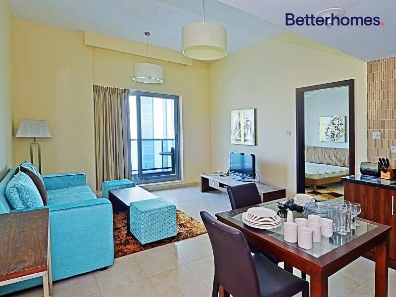 2 Furnished | Large Balcony | Contemporary Style
