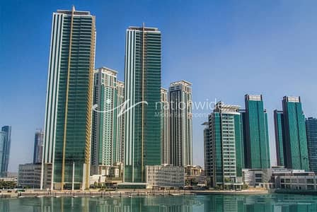 2 Bedroom Apartment for Rent in Al Reem Island, Abu Dhabi - A Cozy Unit with Sea View + Allocated Car Parking