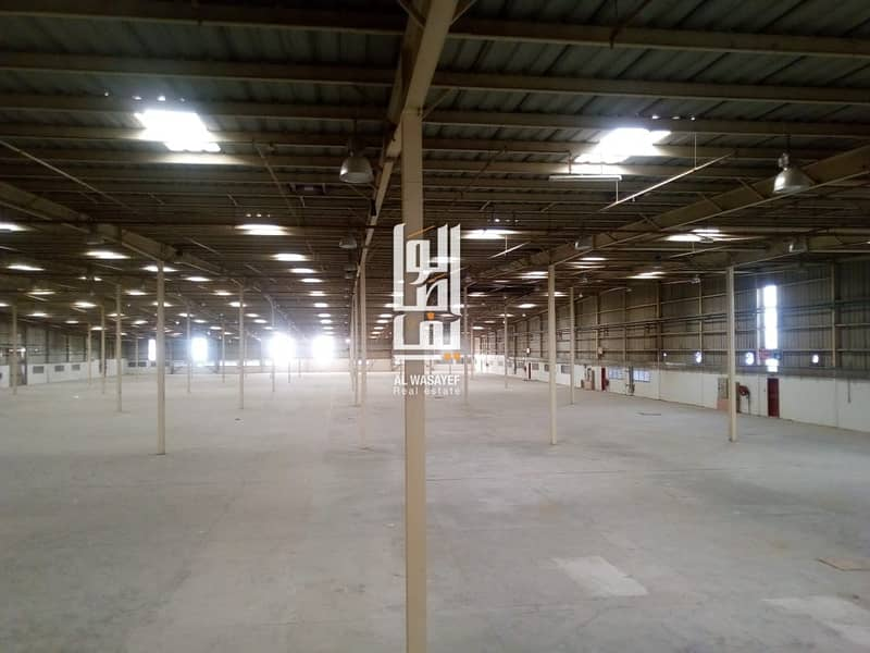2 AMAZING HUGE WAREHOUSE WITH OFFICES NEAR SHEIKH ZAYED ROAD AND METRO