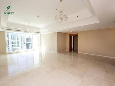 3 Bedroom Flat for Rent in Jumeirah Lake Towers (JLT), Dubai - Huge  Unit | 3 Beds + Maids | Marina View | Vacant
