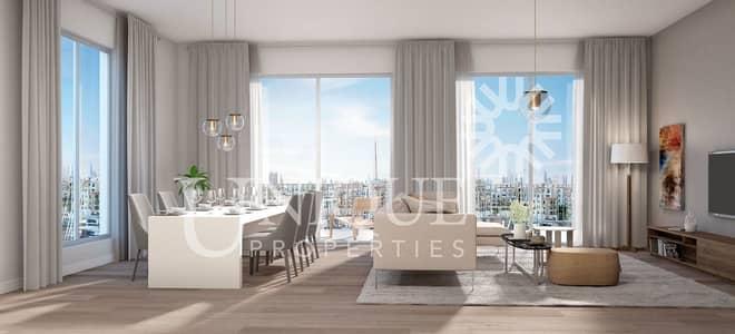 شقة 4 غرف نوم للبيع في جميرا، دبي - Full Marina and SZR Skyline view| 25% Paid!