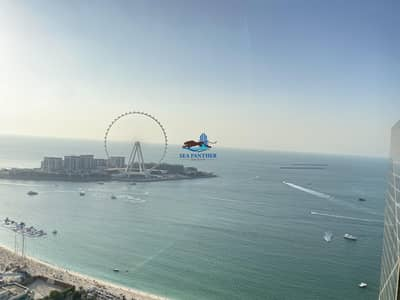 3 Bedroom Apartment for Rent in Jumeirah Beach Residence (JBR), Dubai - Full Sea View | 2 months free | 2 parking 3 + Maid