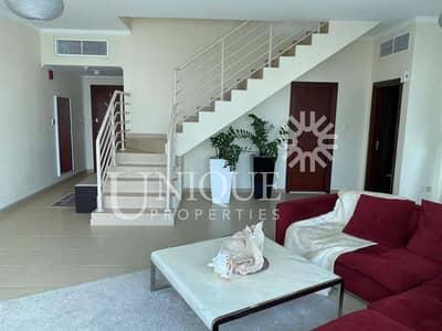 2 Bedroom Flat for Sale in Jumeirah Lake Towers (JLT), Dubai - High Floor Spacious Duplex+Maid w Beautiful views