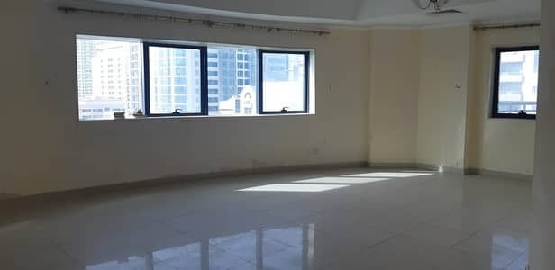 3 Bedroom Flat for Rent in Sheikh Khalifa Bin Zayed Street, Ajman - Huge 3 Bedroom Apartment for rent / on main road ( Bank Street) with Street view