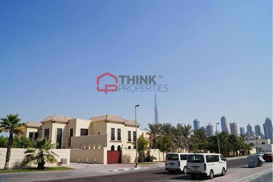 9 Freehold Wasl Plots  for  Villa Great   Location