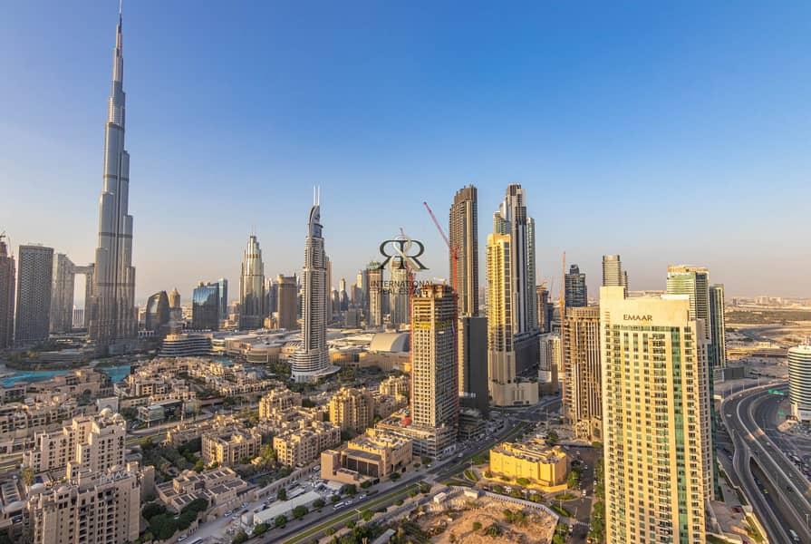 2 Splendid Burj Khalifa View I Furnished 2 Bedrooms Apartment.