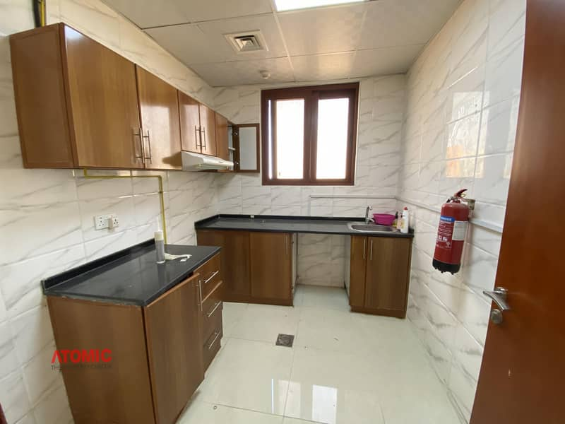 2 Dewa free for one year 2 bhk with Biger balcony for rent in phase 2