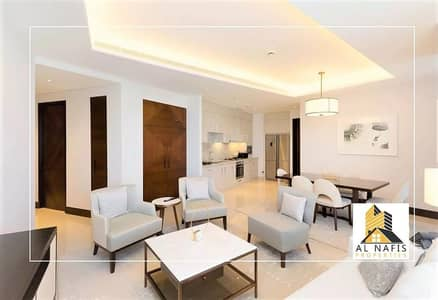 فلیٹ 2 غرفة نوم للايجار في وسط مدينة دبي، دبي - High Floor | Luxury  Furnished  l  High-speed elevator