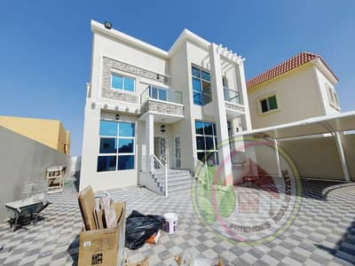5 Bedroom Villa for Sale in Al Rawda, Ajman - Villa for sale personal finishing at a freehold price for all nationalities Superdelux