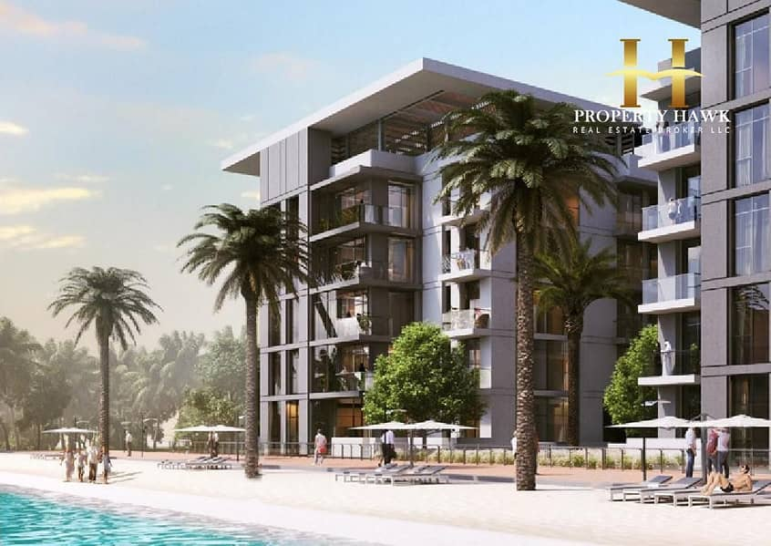 G4 Full Building | Lagoon View | District One