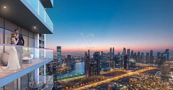 2 Bedroom Apartment for Sale in Business Bay, Dubai - Stunning Views | Premium Design | 2 Year Payment Plan
