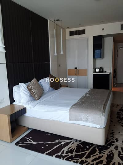 Studio for Rent in Business Bay, Dubai - Well Maintained| Fully Furnished Studio Apartment
