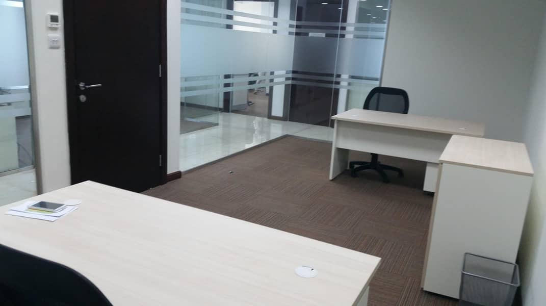 2 Fitted Full Floor Business Center on Sheikh Zayed Road