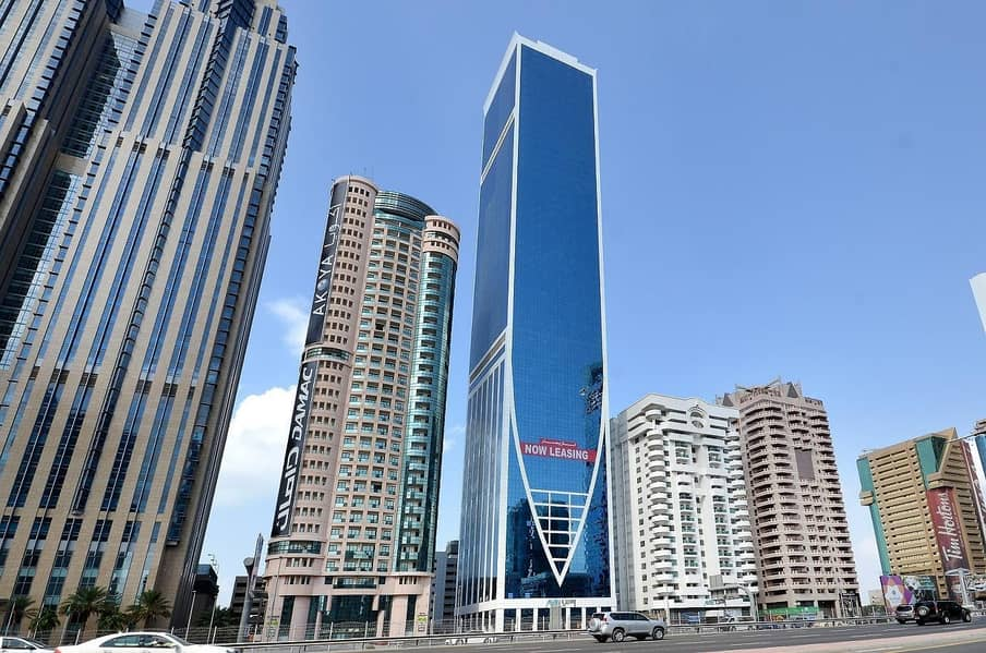 11 Fitted Full Floor Business Center on Sheikh Zayed Road