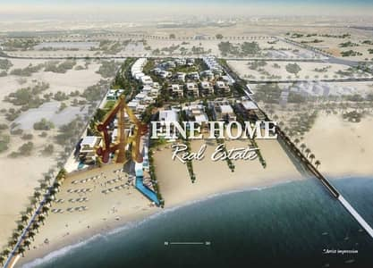 4 Bedroom Villa for Sale in Saadiyat Island, Abu Dhabi - Luxurious and High Quality Beach Villa in Nudra