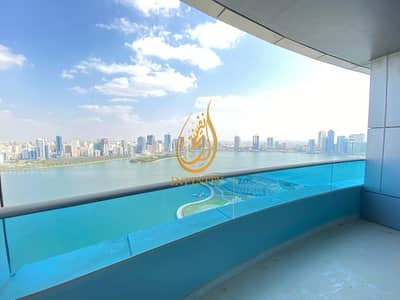4 Bedroom Apartment for Rent in Al Majaz, Sharjah - CHILLER FREE  LUXURIOUS 4BHK FREE PARKING IN 135K ONLY