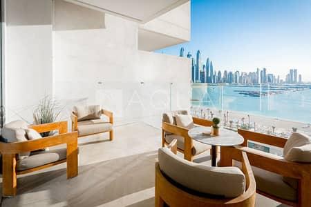 شقة 2 غرفة نوم للايجار في نخلة جميرا، دبي - Exclusive | Fully Furnished | Amazing Sea View