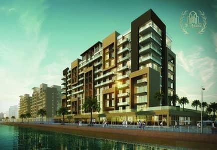 Studio for Sale in Meydan City, Dubai - burj khalifa view in medan .