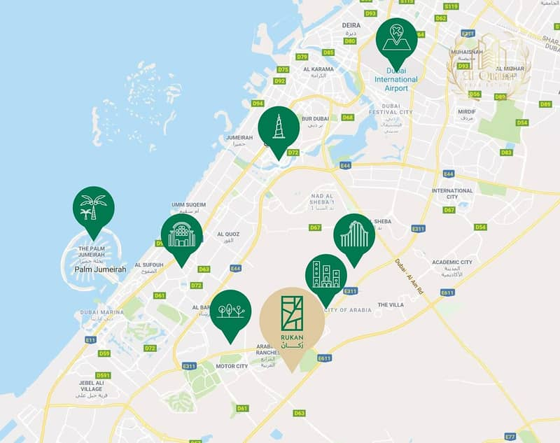 8 The cheapest townhouse in Dubai