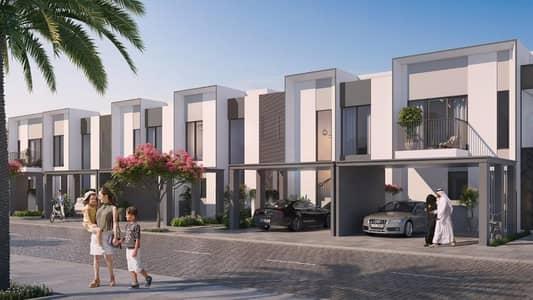 3 Bedroom Villa for Sale in The Valley, Dubai - Book your villa and enjoy easy payment plans