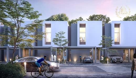 فیلا 3 غرف نوم للبيع في الجادة، الشارقة - Installments of 1% owned in front of University Street.