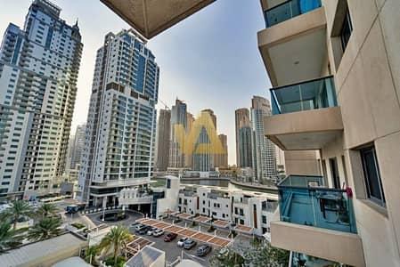 فلیٹ 1 غرفة نوم للبيع في دبي مارينا، دبي - Furnished 1BR Partial Marina Facing|Well Maintained