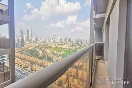 1 Bedroom Apartment for Rent in Dubai Sports City, Dubai - Furnished | Balcony | Golf Course Views
