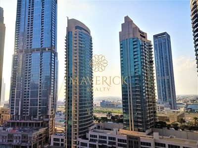 شقة 1 غرفة نوم للايجار في وسط مدينة دبي، دبي - Bright 1BR | Chiller Free | Boulevard View