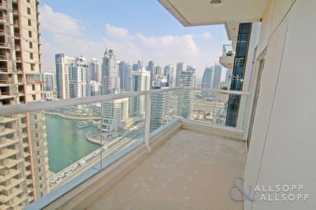 شقة 1 غرفة نوم للبيع في دبي مارينا، دبي - 1 Bed l High Floor l Marina View l Vacant