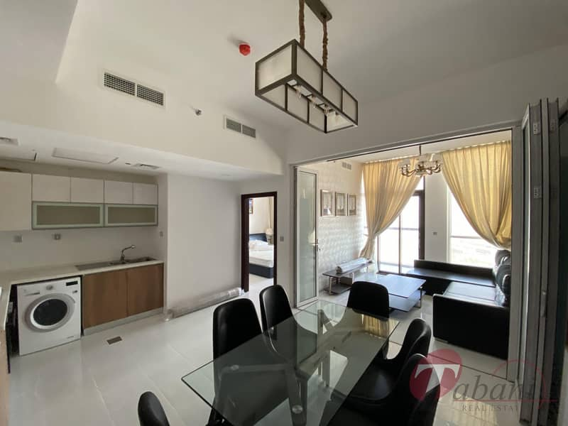 Convertible 2BR | Close to metro station| Brand new building