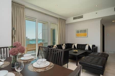 2 Bedroom Flat for Rent in Dubai Marina, Dubai - Spacious 2BR apt with Sea View and Dubai Eye in Royal Oceanic