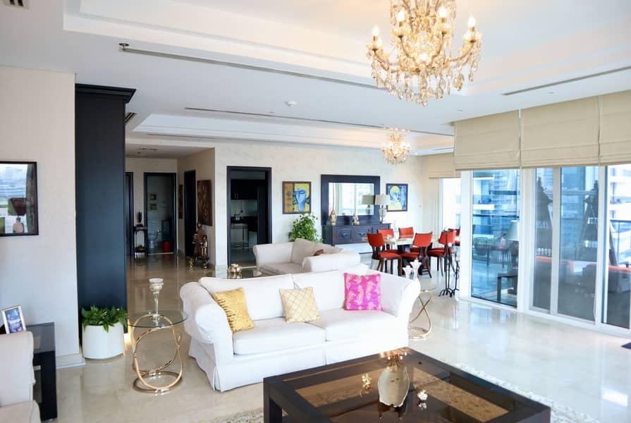 2 Beautiful Marina View | 3BDR  Spacious Apartment