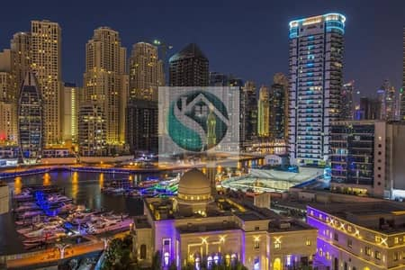 2 Bedroom Apartment for Rent in Dubai Marina, Dubai - Chiller Free | High Floor | Sheikh Zayed Road View