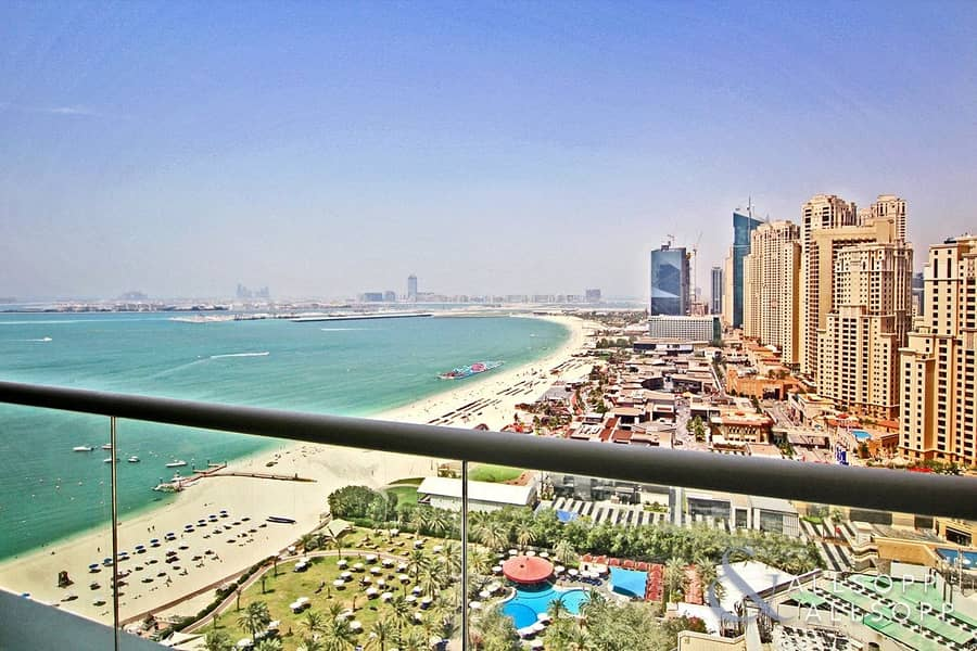 1 Full Sea View | Two Bedrooms Apartment
