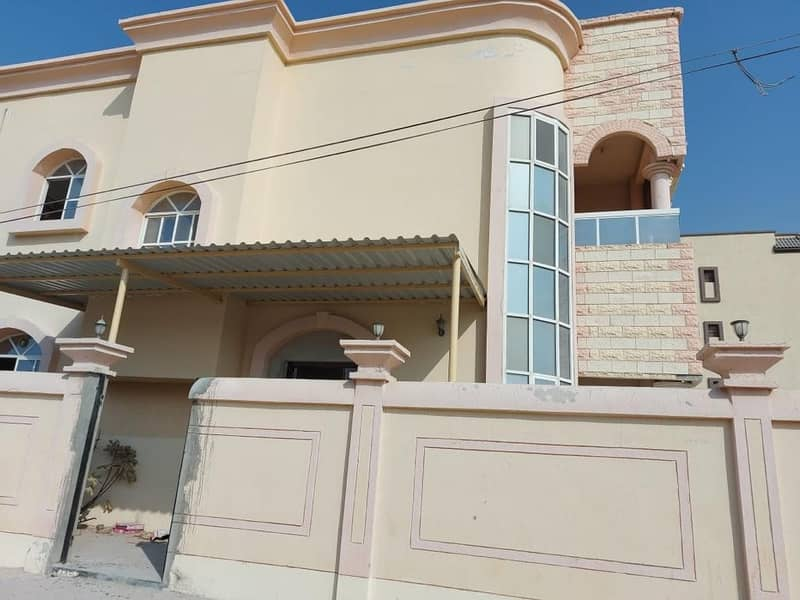 VILLA FOR RENT FOR BEDROOM HALL IN 65,000/-  AED YEARLY