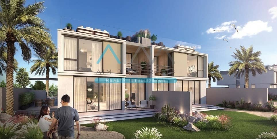 Contemporary Villas | Amazing Golf Course View | 3 years Post Handover Payment Plan